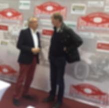 Walter Röhrl und Bernd Böing im Gespräch.