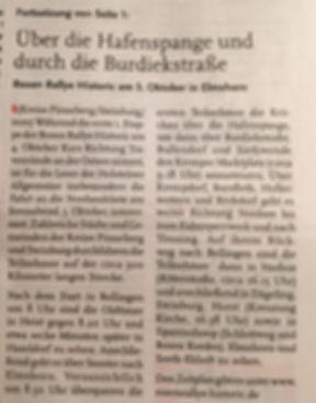 Rosenrallye fährt durch Schleswig-Holstein