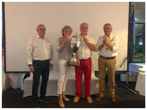 Die Gesamsieger  Sieger der Rosen Rallye Historic 2018