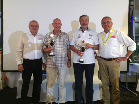 Sieger Gruppe X Rosen Rallye Historic 2018