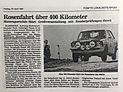Rosen-Rallye-Historic Elmshorner Nahrichten 1981