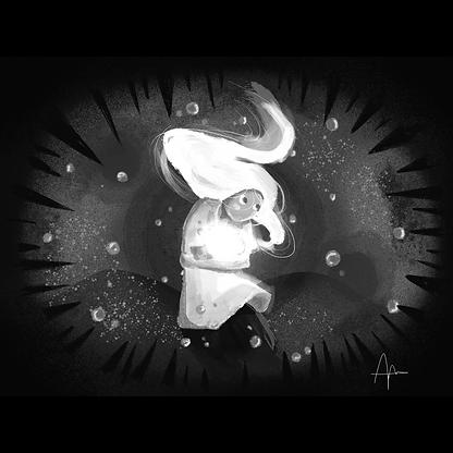 billie eilish noir et blanc