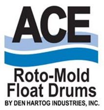 ACE Roto-Mold Float Drums by DEN HARTOG Industries