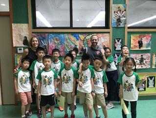 Teaching in Hangzhou