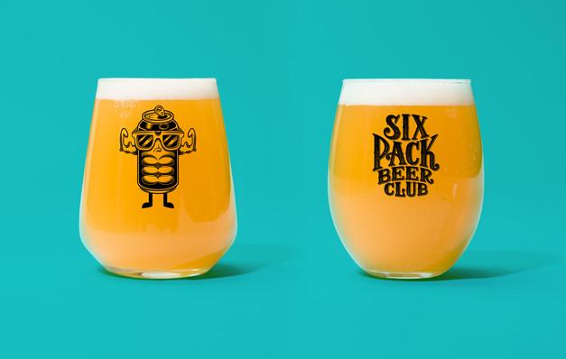 six-pack-beer-club-merch-brew-glass-logo