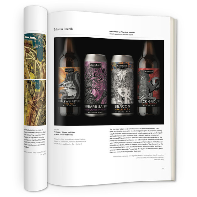 allendale-beer-labels-design-martin-marcin-reznik-creativepool-annual2021-awards-illustrat