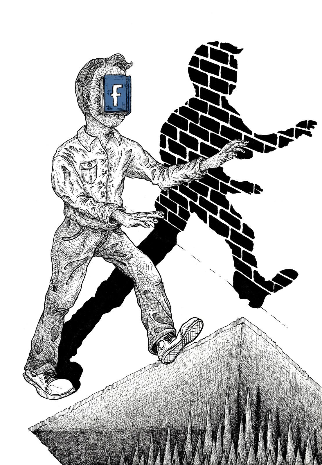 face-book-man social media martin marcin