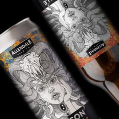 Beer Label Design for Allendale Brewery