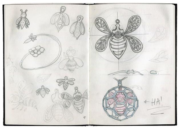 honeycomb-sketchbook1-design-martin-marc