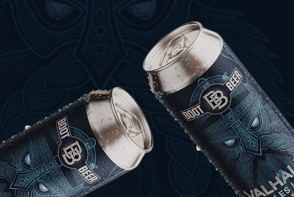 boot-beer-valhalla-two-beer-cans-label-d