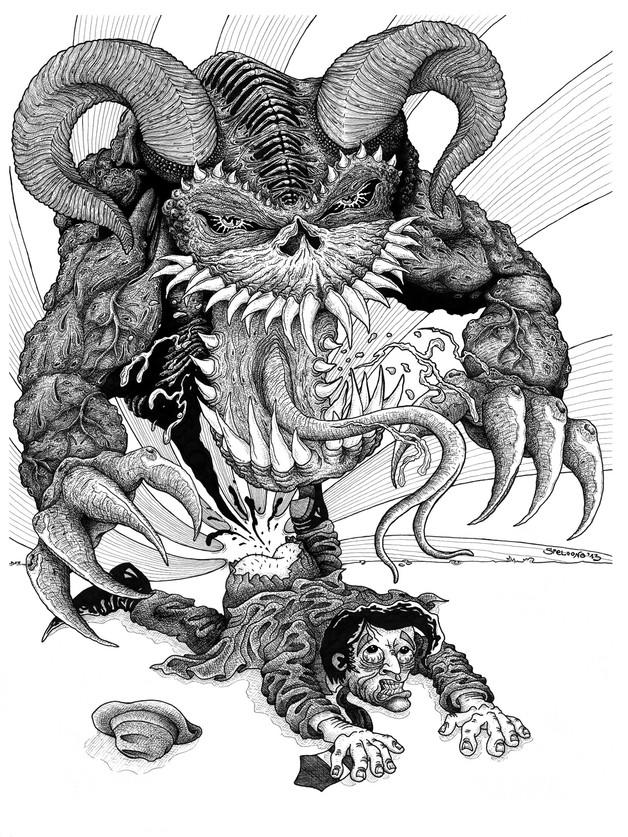demons out page 2 art brut martin marcin