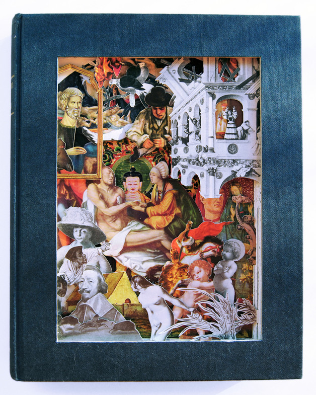 Altered Book - Encyclopedia of Painting