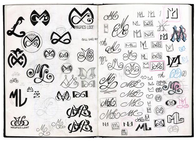 magpies-loot-logo-design-sketchbook1-mar