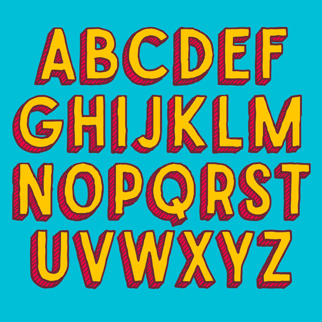 flying-pig-hand-drawn-font-typeface-alph