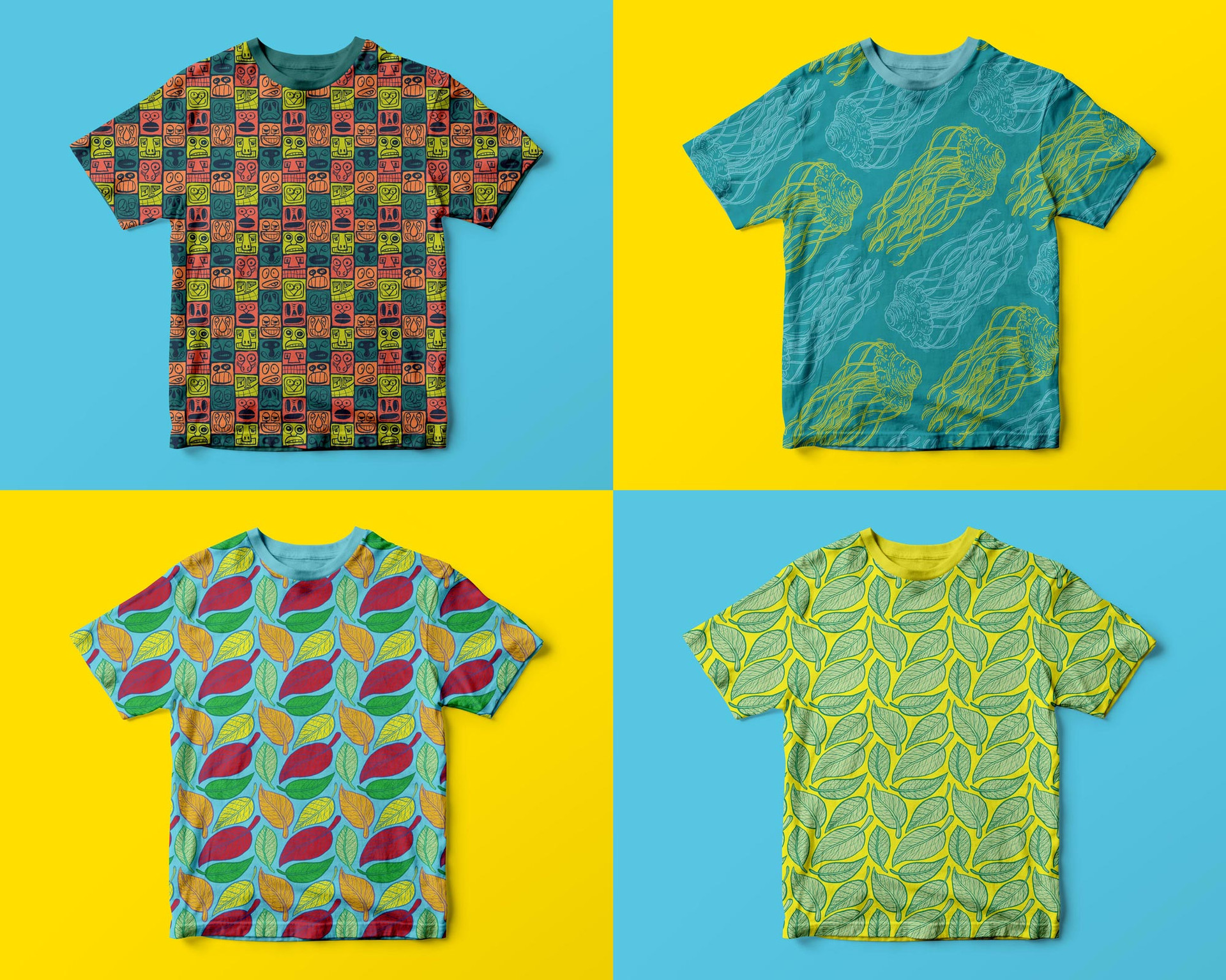 All-over t-shirt prints