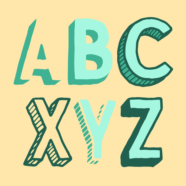 flying-pig-hand-drawn-font-typeface-vari