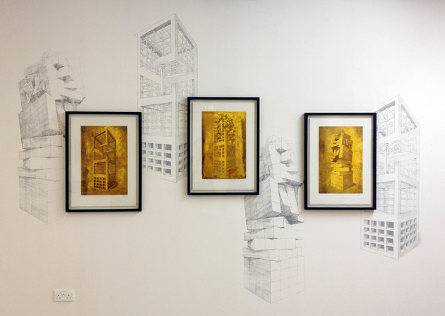 Geometry of Living - Exhibition - Wall View 3