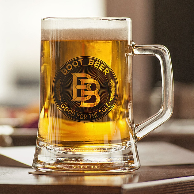 Boot Beer Brewery Logo Redesign