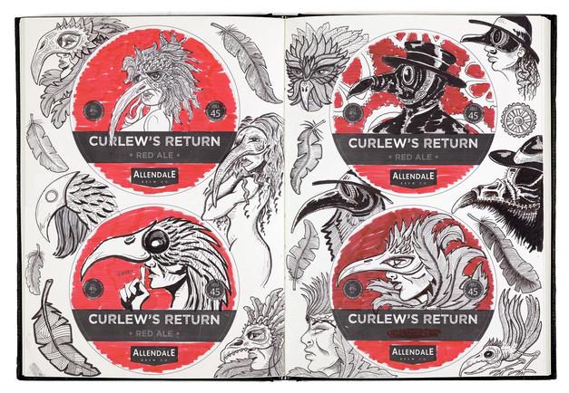allendale-curlews-return-sketchbook-draw