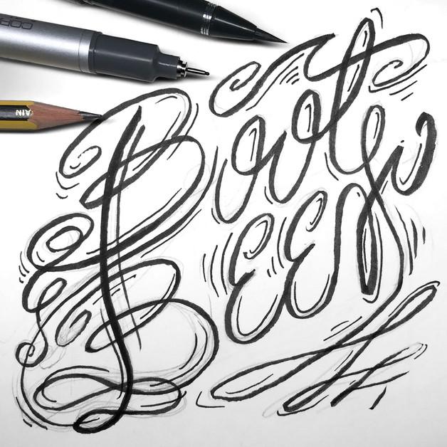 boot-beer-hand-lettering-sketchbook-logo