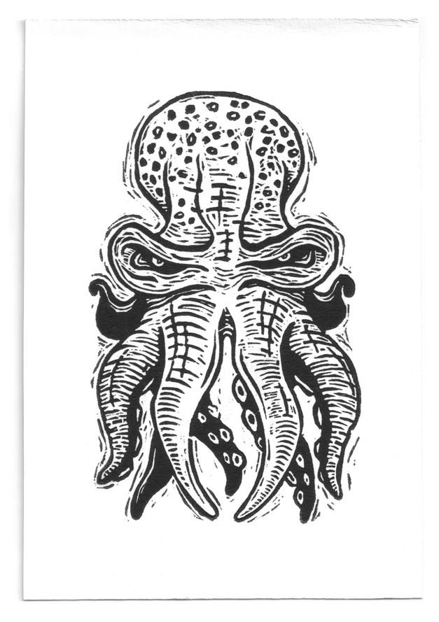 octopus-linocut-martin-marcin-reznik-10t