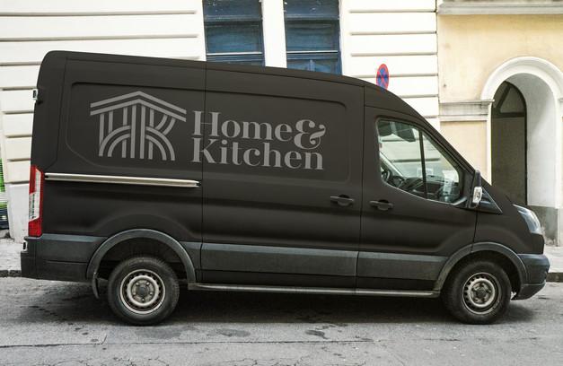 Home&Kitchen-logo-design-branding-delivery-van-martin-marcin-reznik-10tacled-illustration-