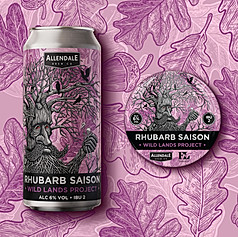 Wild Lands Project Beer Label Design