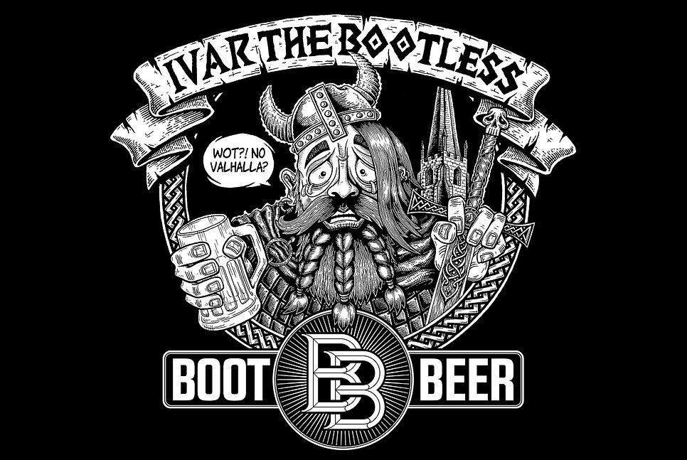 boot-beer-ivar-drawing-tshirt-design-mod