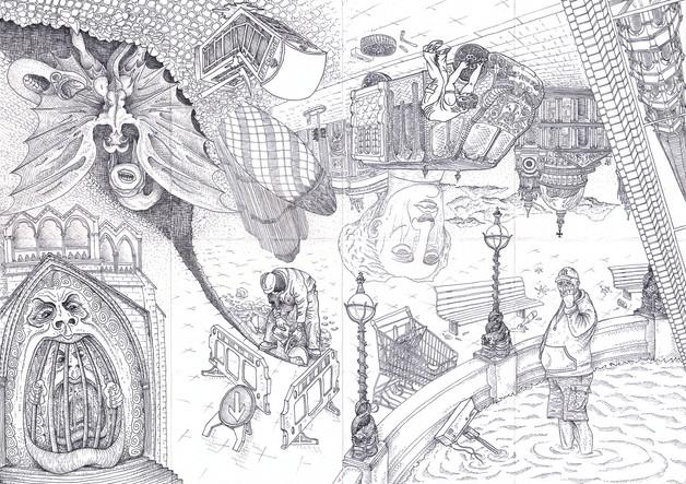 london walk martin marcin reznik illustr