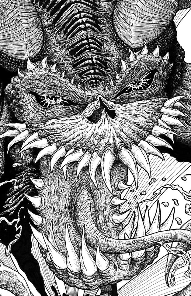 demons out detail 3 art brut martin marc