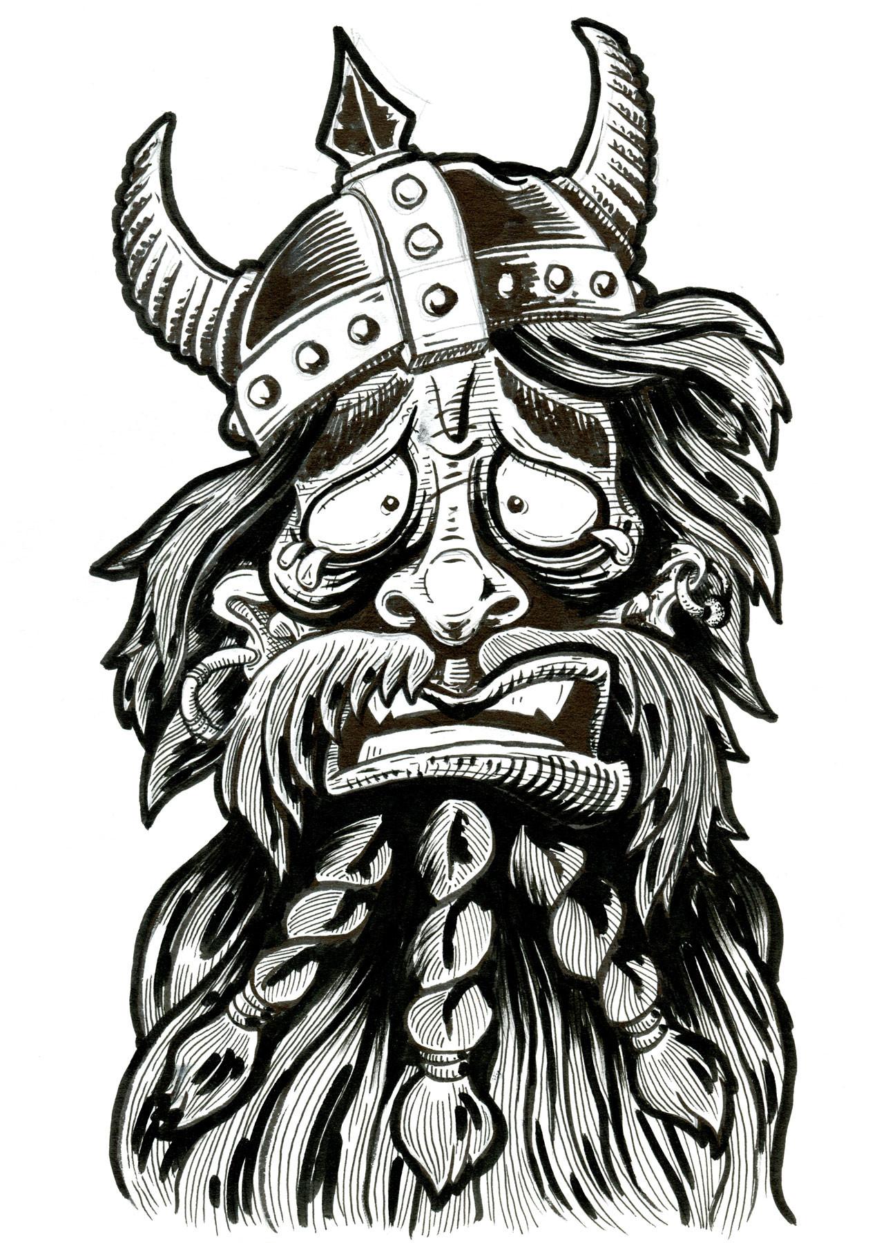 boot-beer-ivar-sketch-tshirt-design-mode