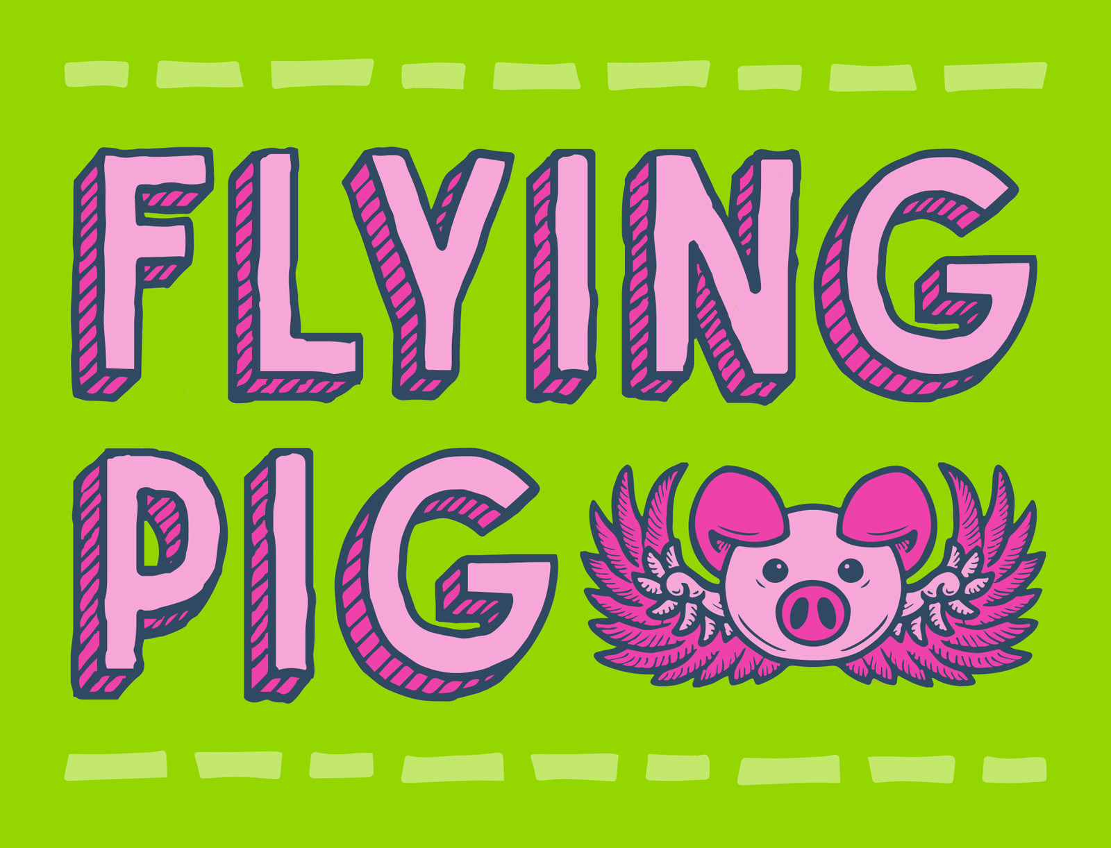 flying-pig-hand-drawn-font-typeface-mart