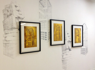 Geometry of Living - Exhibition - Wall View 1