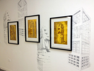 Geometry of Living - Exhibition - Wall View 2