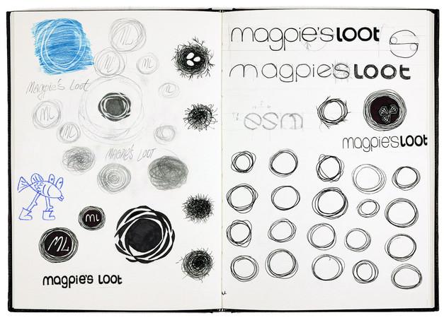 magpies-loot-logo-design-sketchbook2-mar
