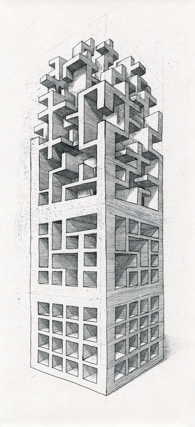 The Geometry of Living - Tower 1