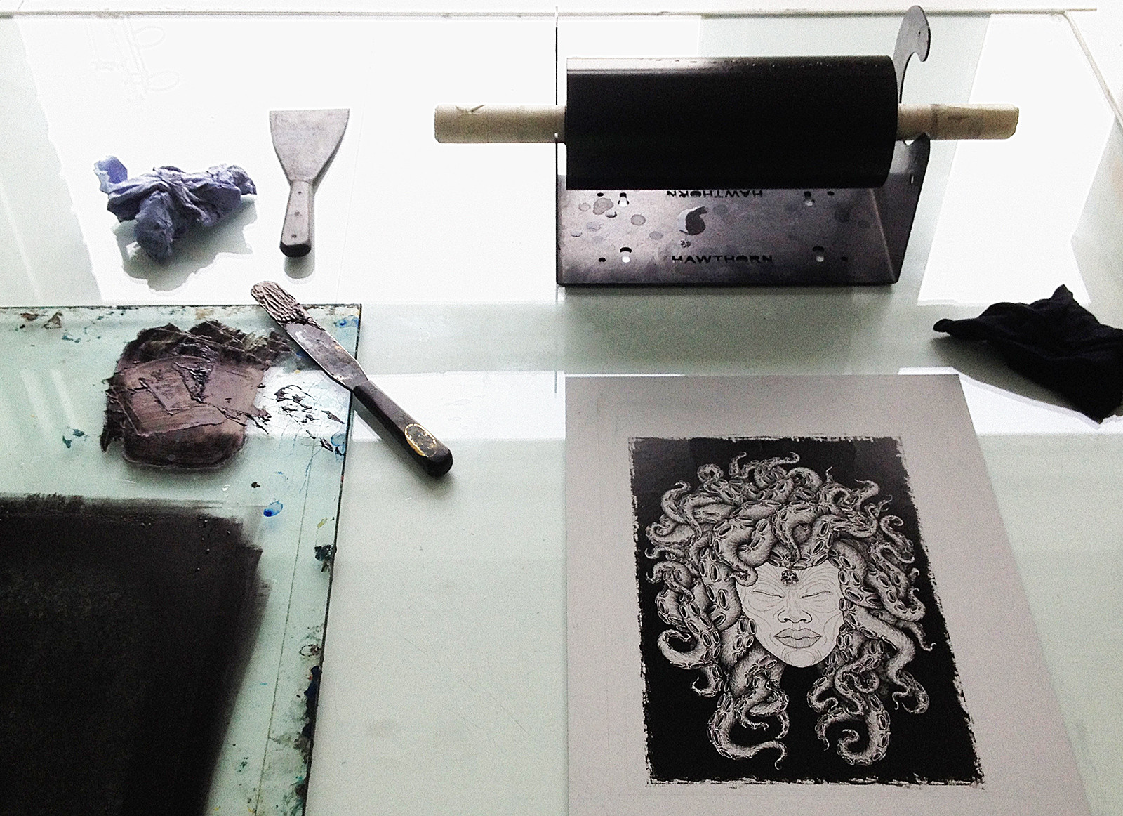Medusa photolitho print process martin m