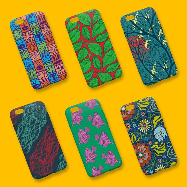 iPhone case pattern design
