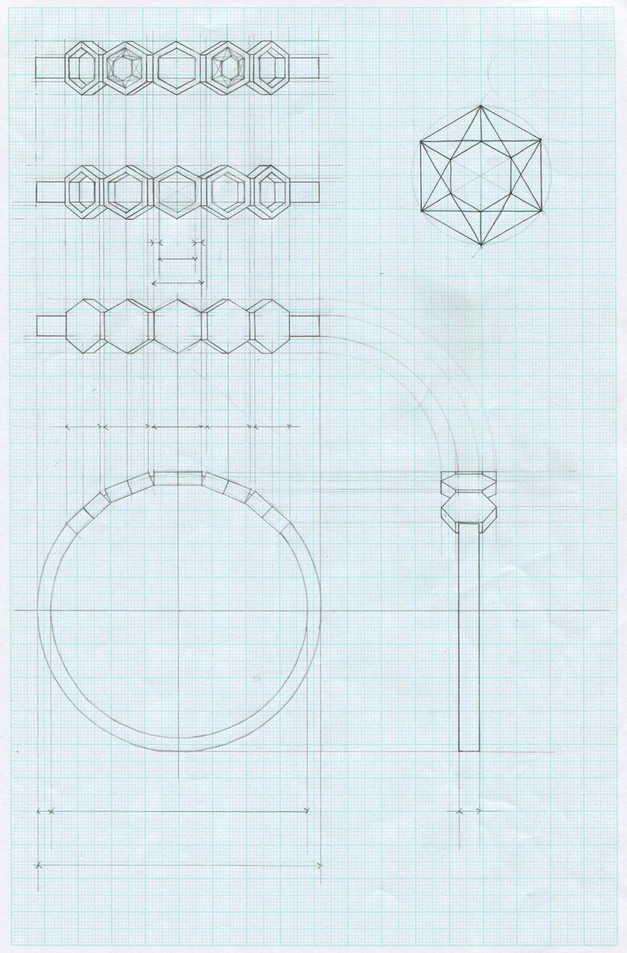 honeycomb-stacking-rings-technical-drawi
