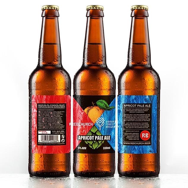Redchurch Apricot Pale Ale Label