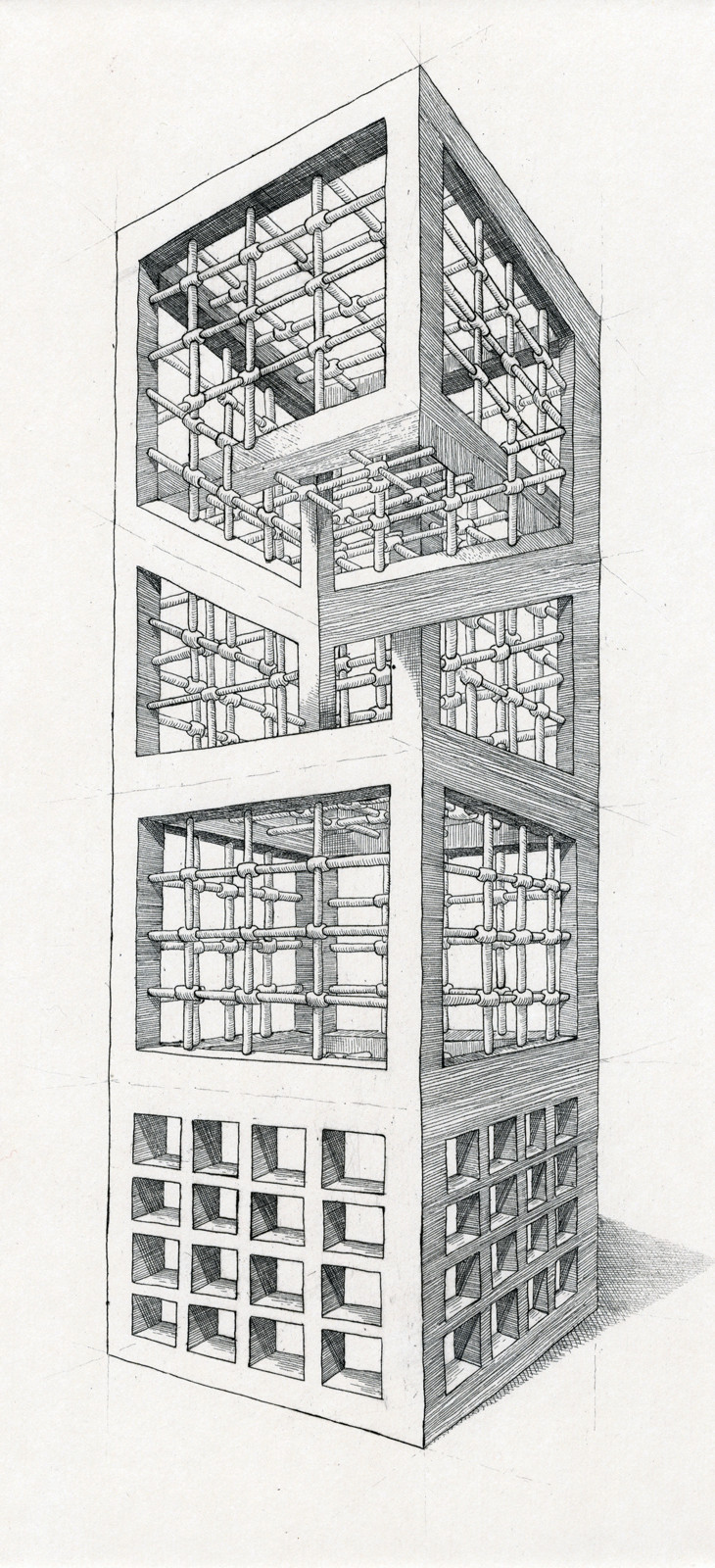 The Geometry of Living - Tower 2