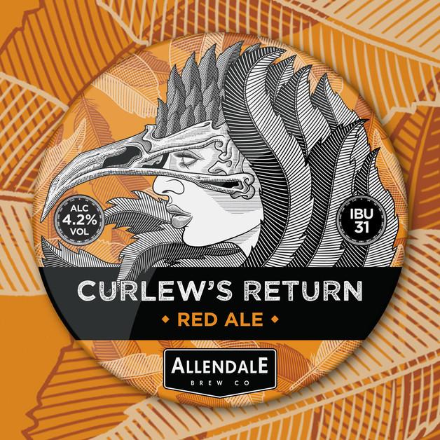 allendale-curlews-return-beer-pump-clip-