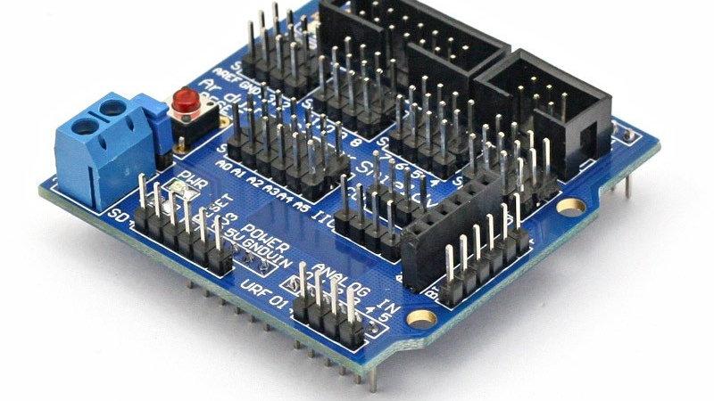 Sensor Shield Board For Arduino Uno