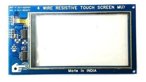 4 Wire Resistive Touch Screen Mux (GRAY)