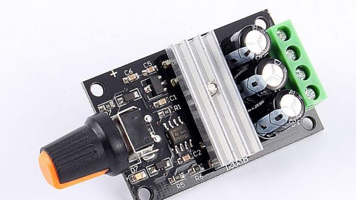 PWM 3A DC Motor Speed Controller Module