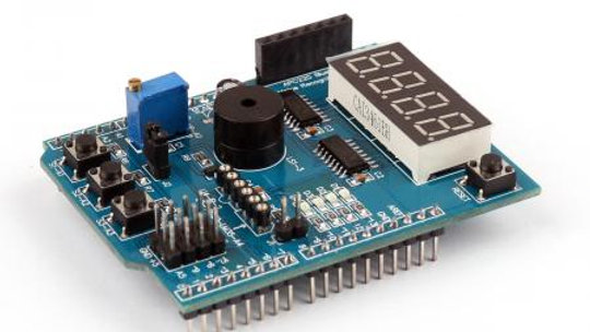 Multi Function Expansion Board For Arduino