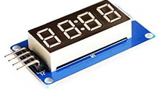 4 Digit 7 Segment Display Module For Arduino TM1637