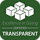Excellence in Giving Certified Transpare