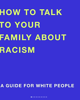 how to talk to your family about racism.
