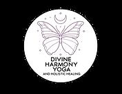 DIVINE HARMONY YOGA - LOGO (SPELLING COR